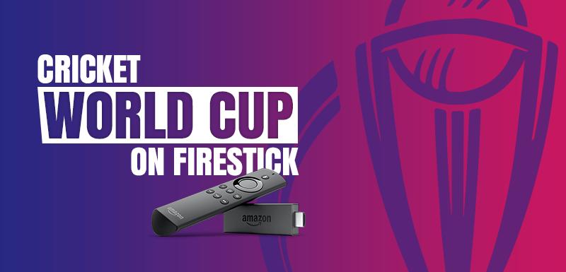cricket world cup on firestick