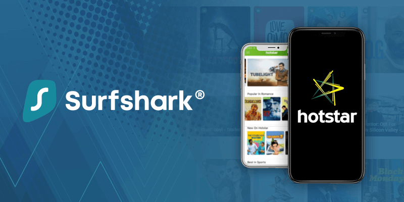 Surfshark VPN Unlimited Multi-Device Login VPN For Hotstar