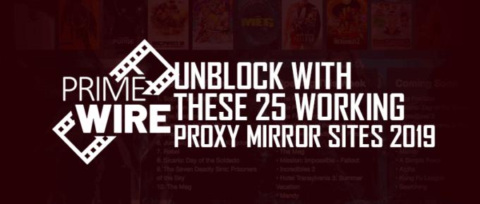 Primewire Unblocked Proxy Mirror Sites