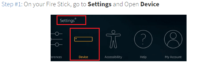 Step 1 Settings And Open Device