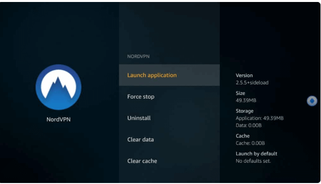 NordVPN Launch Application 2