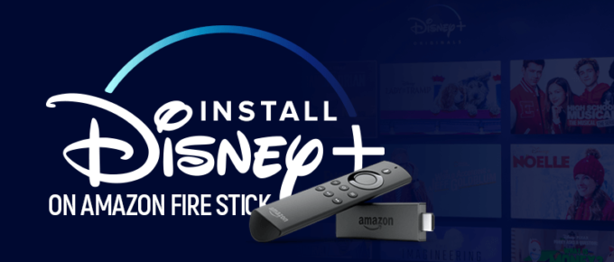 Install Disney Plus on Amazon Fire Stick