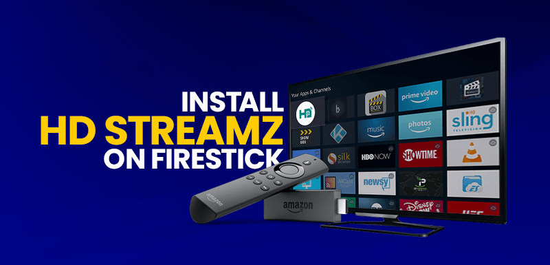 Install HD Streamz on FireStick