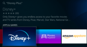 Step 3 of how to install Disney Plus on Firestick