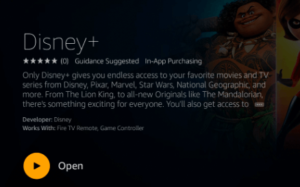 Step 5 of how to install Disney Plus on Firestick