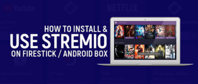 Use Stremio on FireStick / Android Box