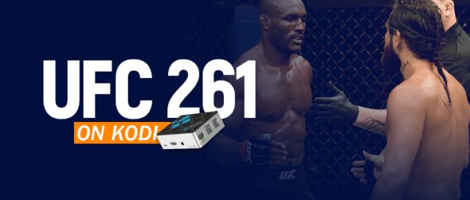 Watch UFC 261 on Kodi